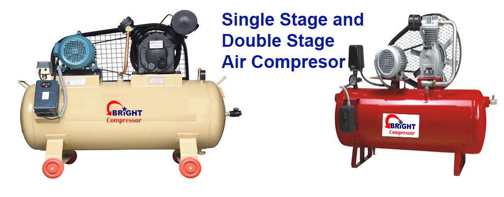 Single and Double Stage Air Compressor